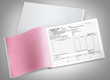 Invoices and receipt books