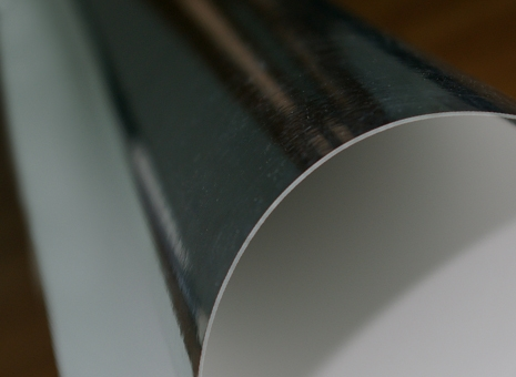 Polyester film for signs and emblems